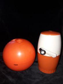 Sceau à glaçons boule de bowling + broyeur à glace OMI