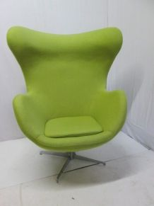 Fauteuil forme d'oeuf