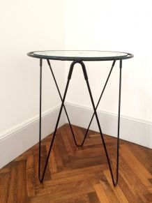 table tripode vintage