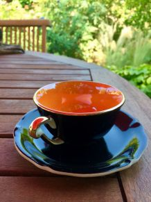 Service à café année 50 céramique Saint Amand