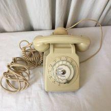 Téléphone socotel s 63 couleur ivoire vintage.