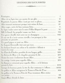 Gravure signée, numérotée, G. GIANNINI Alice au pays des M