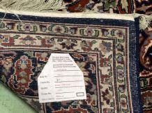 Tapis d'orient fait main en laine et soie