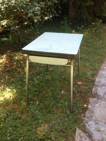 Table en formica vintage années 50-60