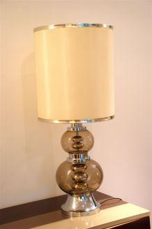 Grande lampe vintage années 70