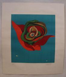 Lithographie originale Félix Labisse signée
