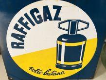Plaque émaillée RAFFIGAZ