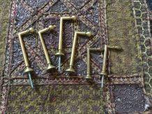 Crochets pour embrasse rideaux