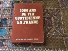 Livre 2000 ans de vie quotidienne en France