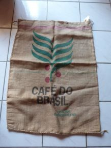 Sac toile de Jute CAFE DO BRASIL