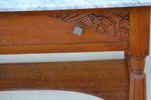 Table de toilette ancienne art deco 1930