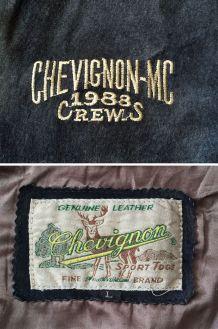 Blouson CHEVIGNON Vintage en Daim