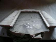 Grande applique plâtre 1940