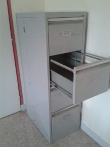 Casiers métalliques industriel 4 tiroirs