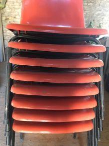 Lot de chaises vintage