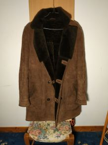 Manteau caban vintage.