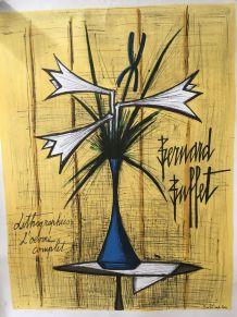 Lithographie Bernard BUFFET aux éditions MOURLOT