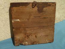 image sur bois ,  ancien , vintage