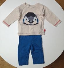 Ensemble 6 mois pingouin Republic of Kids