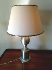 Grande lampe boule style P. Barbier