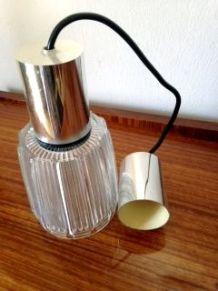 Lampe en verre à suspendre