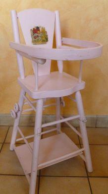 chaise de poupée