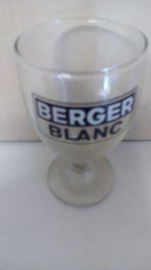 1 verre berger blanc