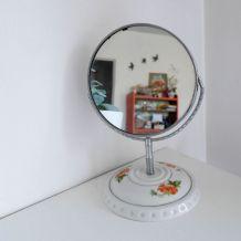 Miroir porcelaine