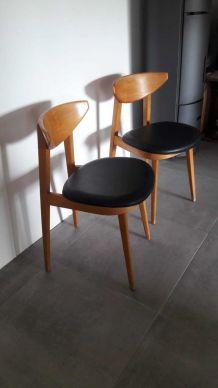 Chaise danoise Vintage