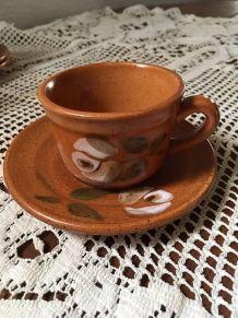 Service à café en grès st Amand.