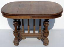 Table à rallonges ovale
