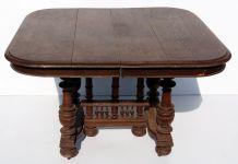 Table ancienne à rallonges