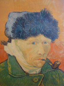 Van Gogh Reproduction de l'autoportrait à l'oreille bandée
