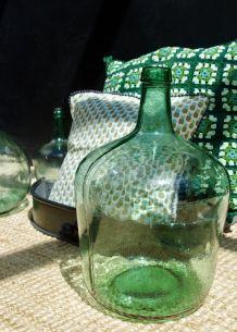 Grande bonbonne Viresa 10 litres verte