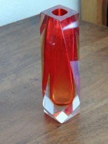 vase soliflore années 70