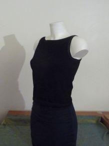 Top Sans Manches En Coton Elasthanne Noir- Adidas Originals
