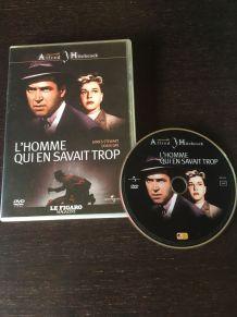 """DVD """"L'Homme qui en savait trop"""" A. Hitchcock"""