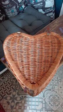 Panier pique-nique cœur