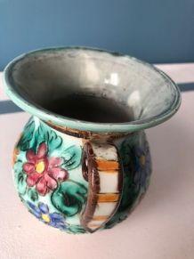 Vase vintage double anse