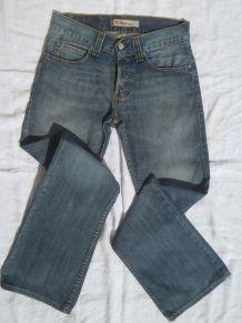 jeans  levis 512 Bootcut Homme  , bleu  T 38
