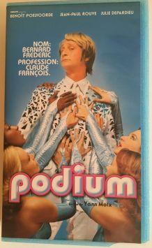 "VHS film ""Podium"" avec Benoît Poelvoorde"