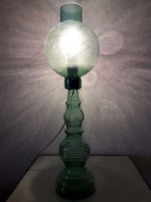 LAMPE DE TABLE VERRE
