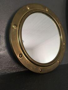 Miroir industriel rond
