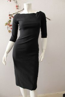Robe glamour moulante style années 50 T 36