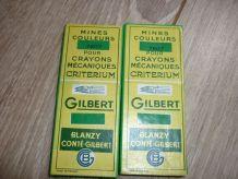 Lot 2 boîtes mines couleurs pour crayons mécaniques