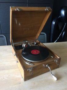 Gramophone début 20 eme