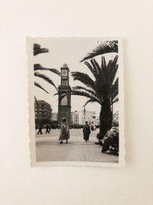 Photo vintage place de France Casablanca