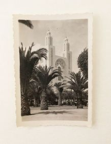 Photographie vintage Casablanca Maroc 40's