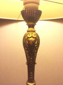 Lampadaire en bronze année 50