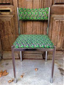 Chaise wax Collomb Création année 70